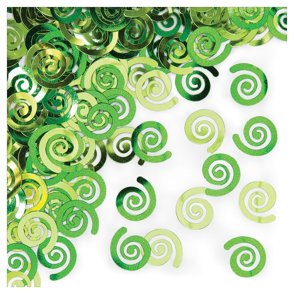 Fresh Lime Swirls Confetti