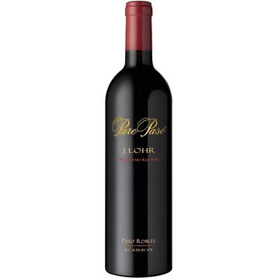 J. Lohr Pure Paso Proprietary Red Wine - 750ml Bottle