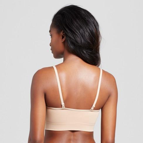 a752ac83920 Women s Seamless Bandeau - Gilligan   O Malley™ - Honey Beige XS   Target