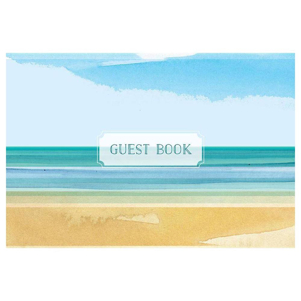 Guest Book Coastal Edition Hardcover
