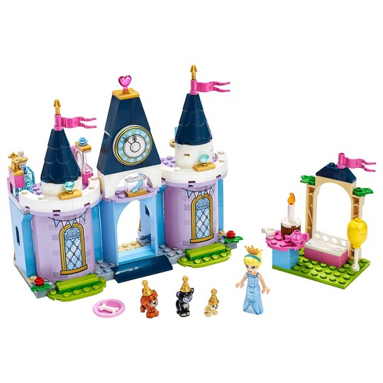 LEGO Disney Cinderella's Castle Celebration 43178 Princess Building Playset image number null
