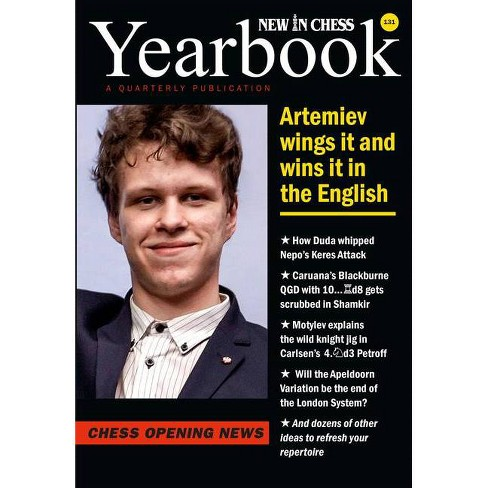 New in Chess Yearbook 131 - by  Jan Timman (Paperback) - image 1 of 1