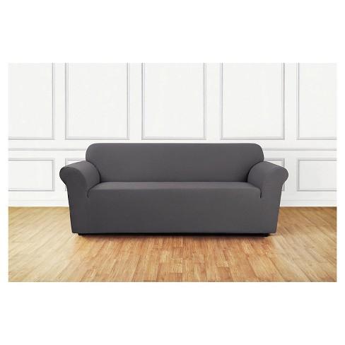 Stretch Leaf Sofa Slipcover Sure Fit Target