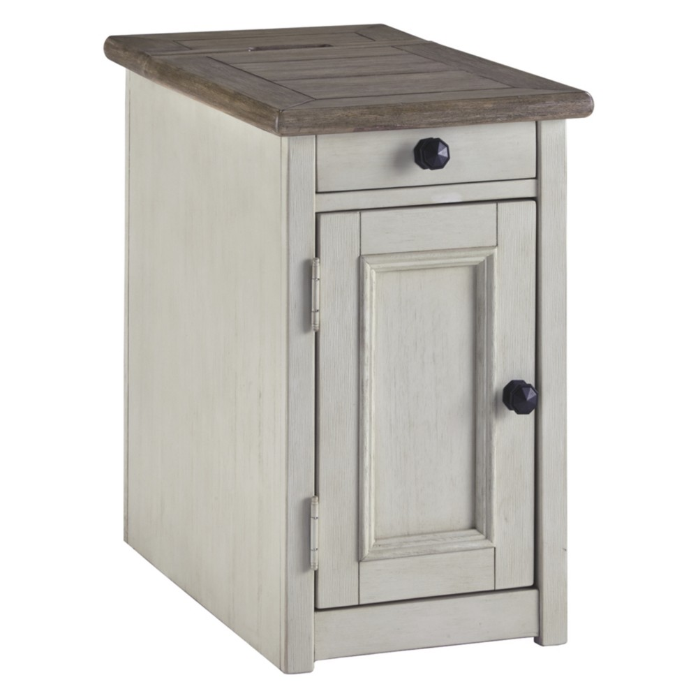 Bolanburg Chair Side End Table Brown/White - Signature Design by Ashley