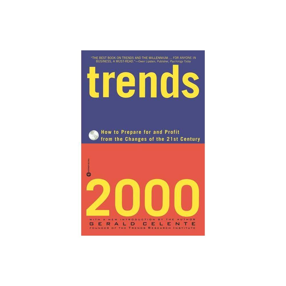 Trends 2000 By Gerald Celente Paperback