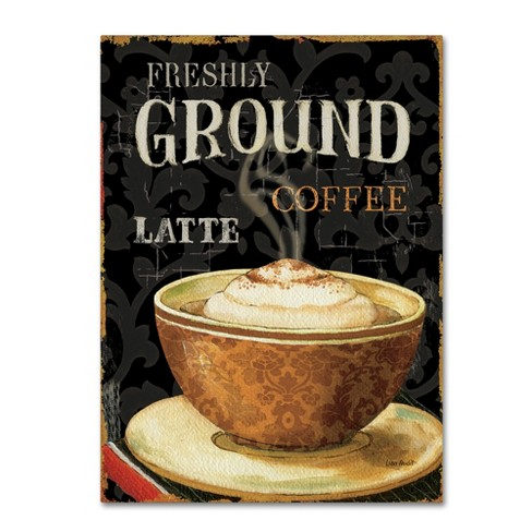 Trademark Global Lisa Audit 'Today's Coffee II' Unframed Wall Canvas Art - image 1 of 3