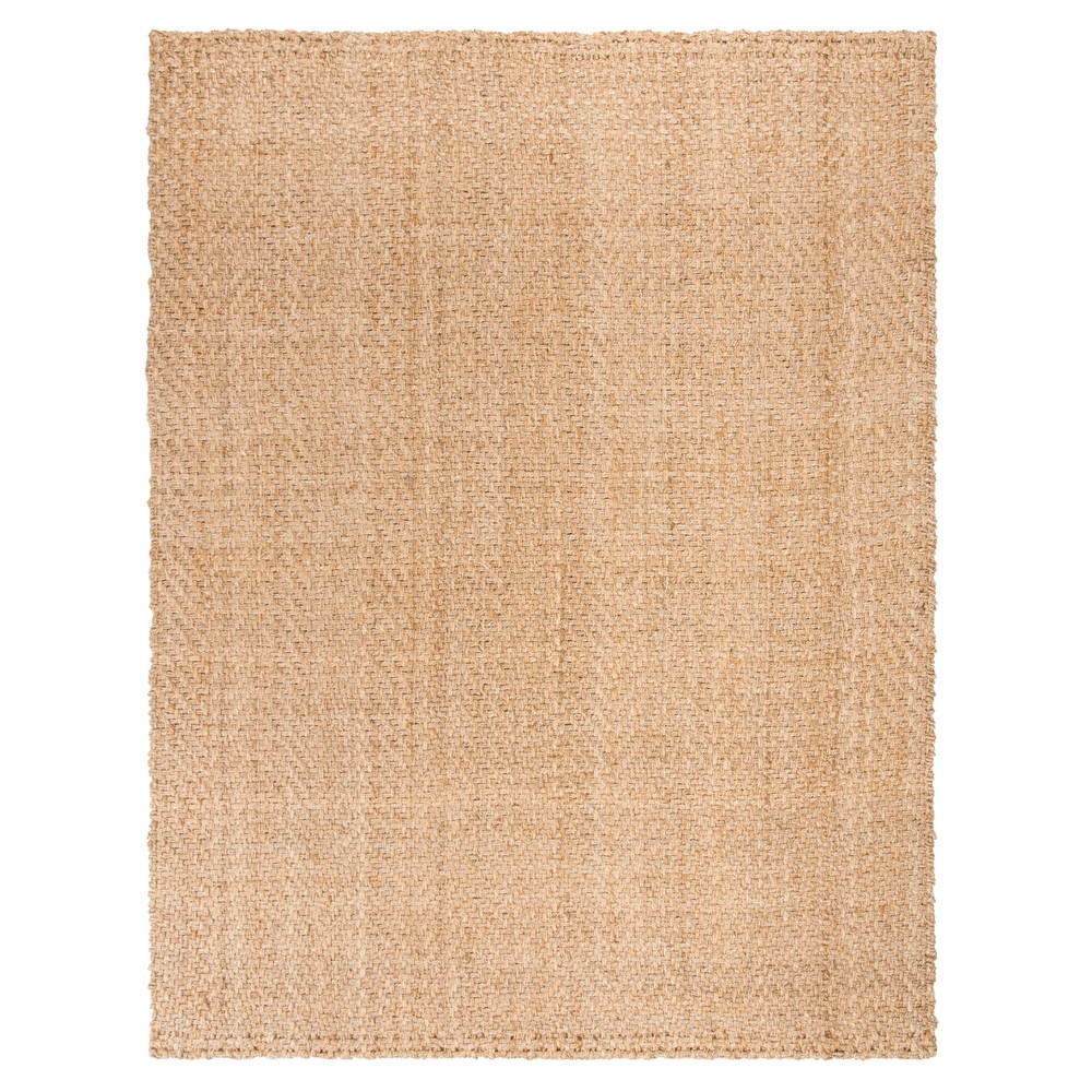 Natural Solid Woven Area Rug 9'X12' - Safavieh, White