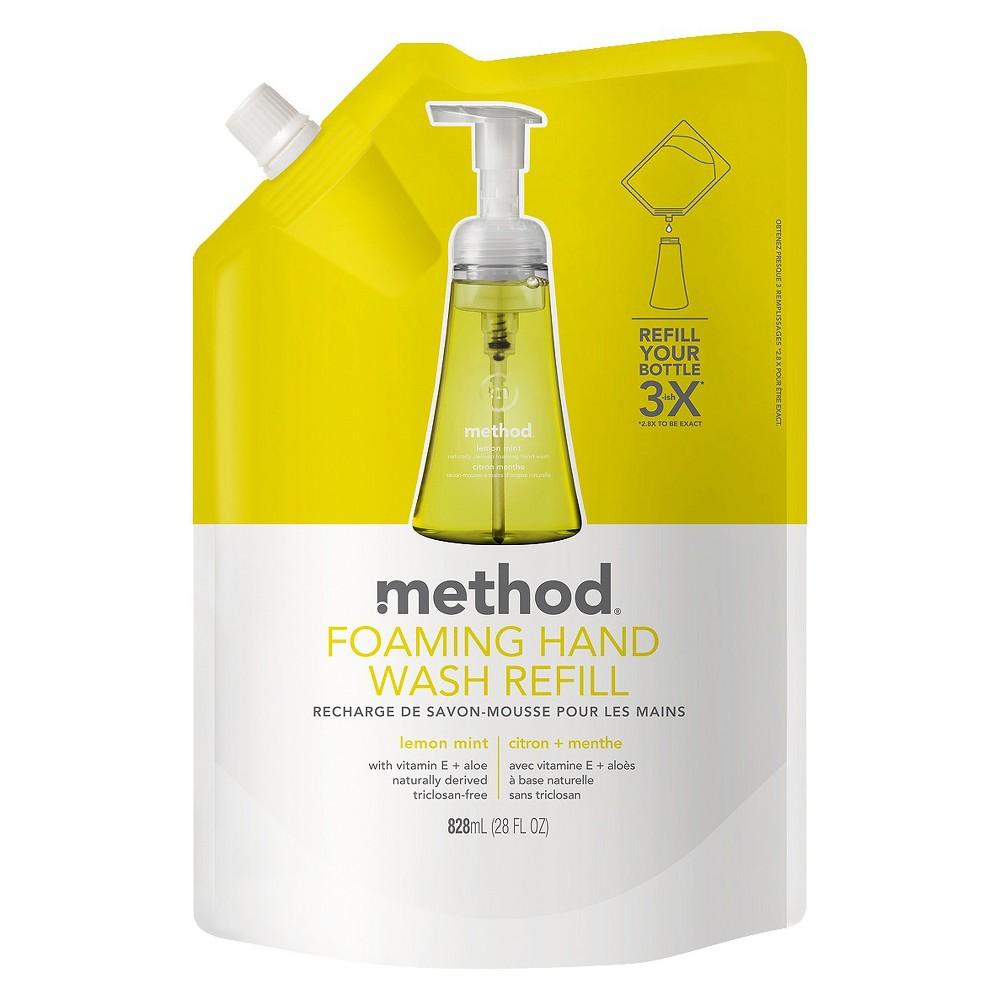 Method Foaming Hand Soap Refill Lemon Mint - 28oz
