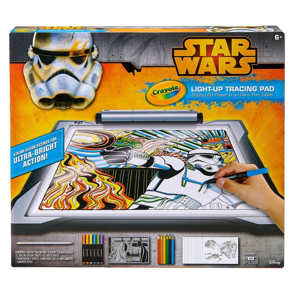Crayola Light Up Tracing Pad - Star Wars, Multi-Colored