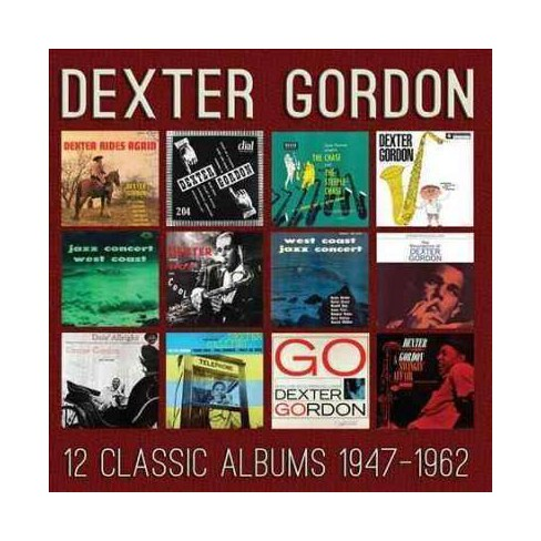 Dexter Gordon - 12 Classic Albums: 1947-1962 (CD) - image 1 of 1