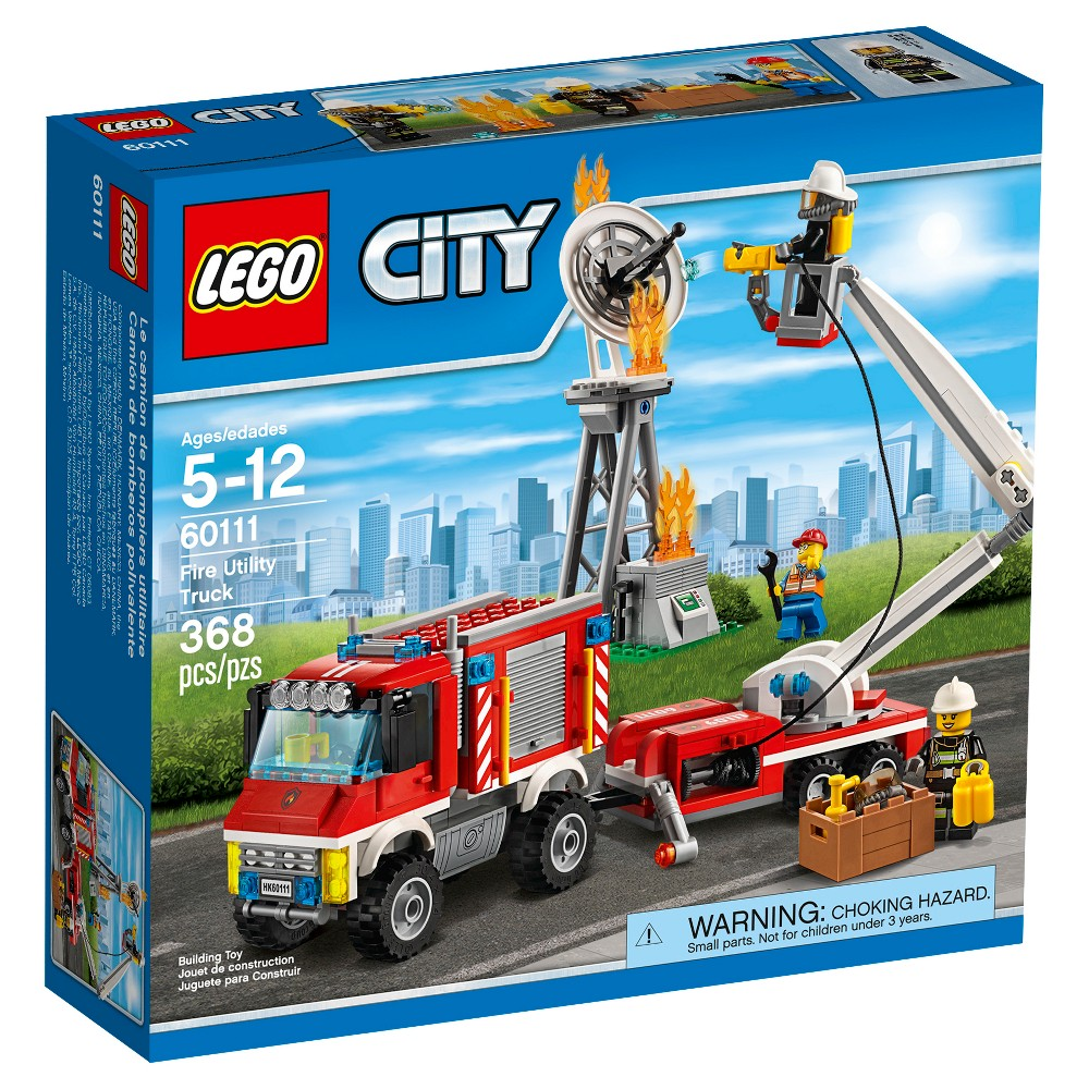 LEGO City Fire Utility Truck 60111