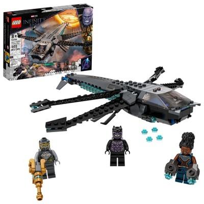 LEGO Marvel Black Panther Dragon Flyer 76186 Building Kit