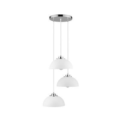 Tribeca Cascading Pendant Light White - Globe Electric