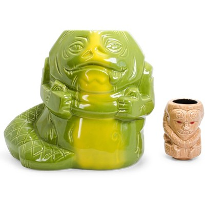 Beeline Creative Geeki Tikis Star Wars Jabba The Hutt & Bib Fortuna Collectible Mugs   Set Of 2