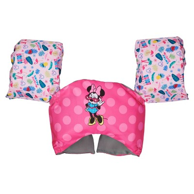 SwimWays Sea Squirt Minnie Mouse Life Jacket