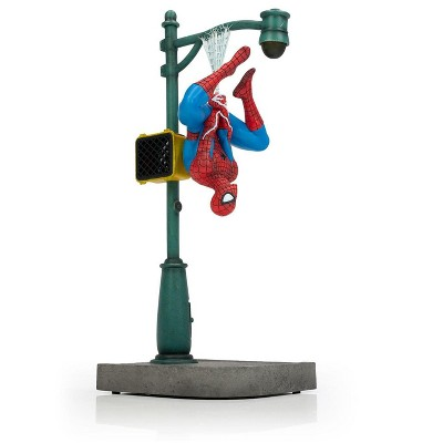 "Gentle Giant Studios Marvel Spider-Man Collector Statue | Interactive Spider-Man Figure | 14"" Tall"