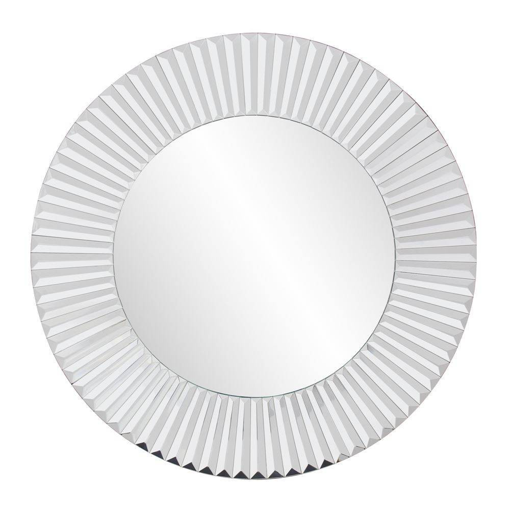 Round Collection Torino Decorative Wall Mirror - Howard Elliott, Clear