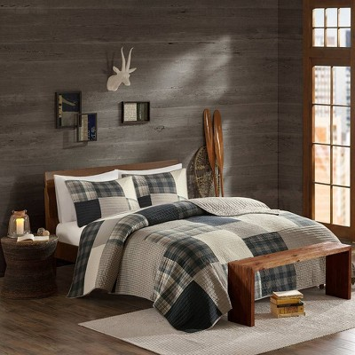 Winter Hills Oversized Cotton Quilt Set