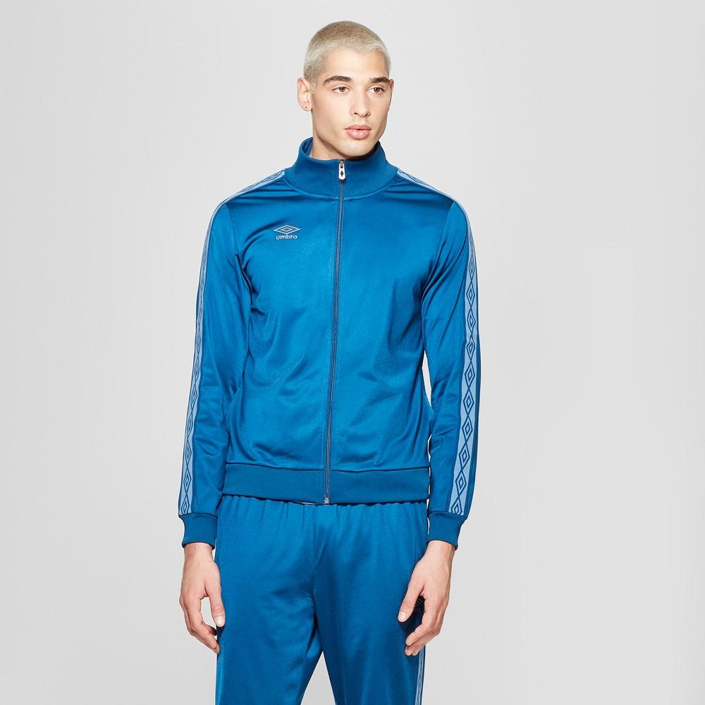 Umbro Men's Track Jacket - Poseidon Blue L