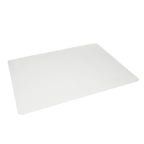 """46""""x60"""" Chair Mat For Low Pile Carpet Clear - OFM - image 1 of 4"""