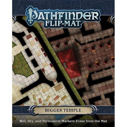 Pathfinder Flip-Mat: Bigger Temple - by  Jason A Engle & Stephen Radney-Macfarland (Paperback) - image 1 of 1