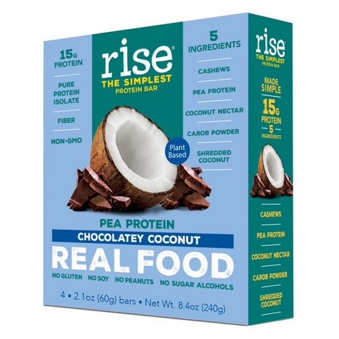 Rise Bar Plant-Protein Bar - Chocolatey Coconut - 4ct - image 1 of 2