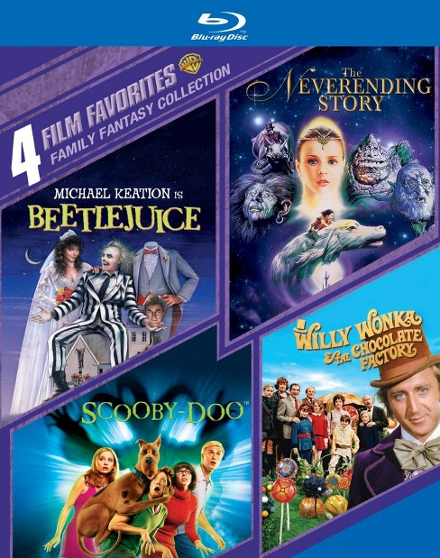 Family Fantasy Collection: 4 Film Favorites (4 Discs) (Blu-ray) - image 1 of 1