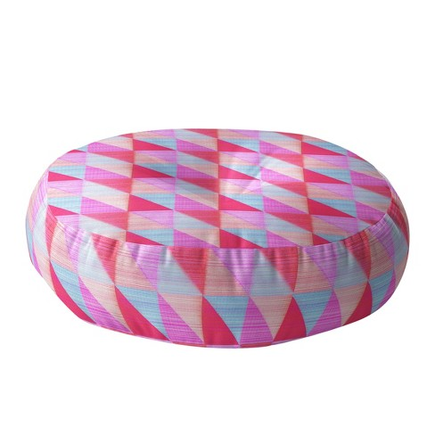 """Hadley Hutton Floral Floor Pillow (23"""") Pink - Deny Designs® - image 1 of 2"""