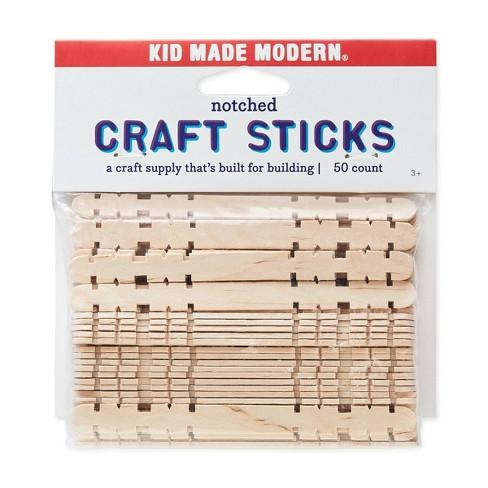 Kid Made Modern 50ct Notched Craft Sticks - image 1 of 4