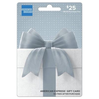 American Express Gift Card - $25 + $4 Fee
