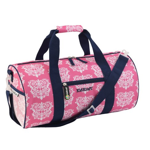 KidKraft Duffle Bag - Damask (Pink) - image 1 of 3