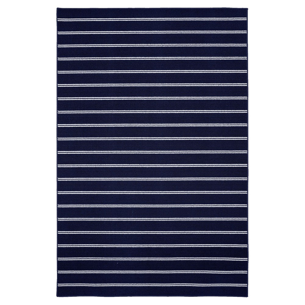 Garland Avery Area Rug - Navy (Blue) (5'X7'5)