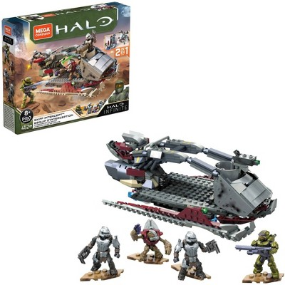 Mega Construx HALO Infinite Skiff Intercept Contruction Set