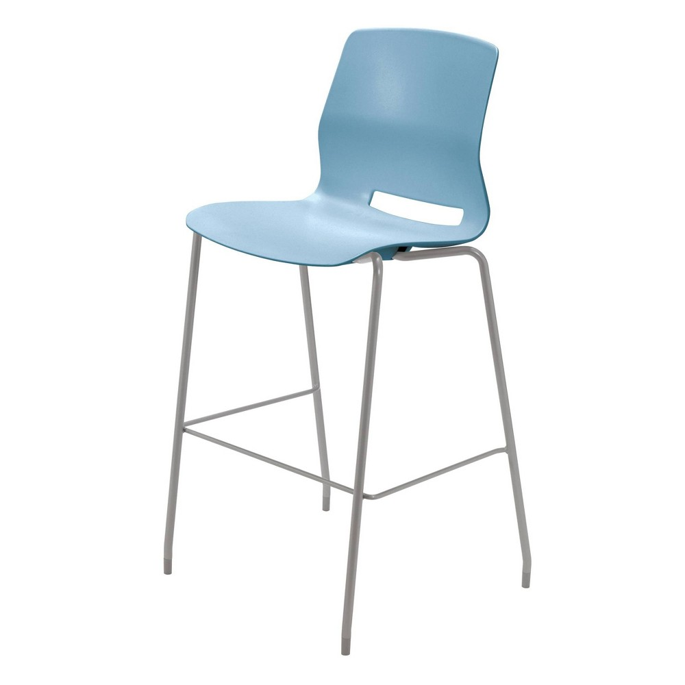 "Image of ""30"""" Lola Stacking Office Stool Sky Blue - Olio Designs, Blue Blue"""