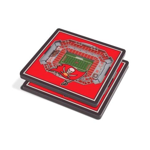 NFL Tampa Bay Buccaneers 3D StadiumView Coasters - image 1 of 3