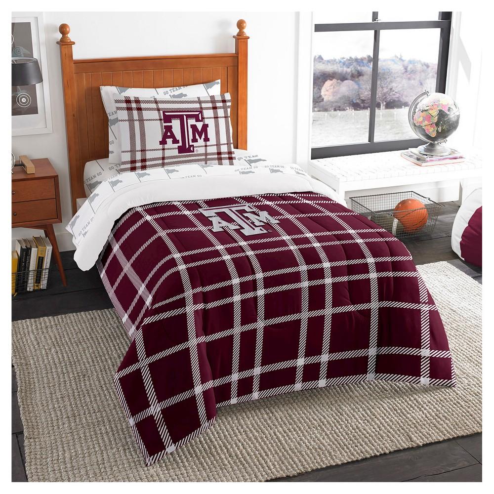 NCAATexas A&m Aggies Twin Bedding in a Bag Set, Texas A&m Aggies