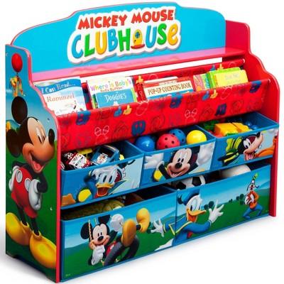Disney Mickey Mouse Deluxe Boy & Toy Organizer - Delta Children