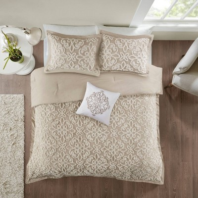Amber Chenille Comforter Set 4pc
