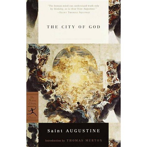 The City of God - (Modern Library Classics) by  Augustine (Paperback) - image 1 of 1