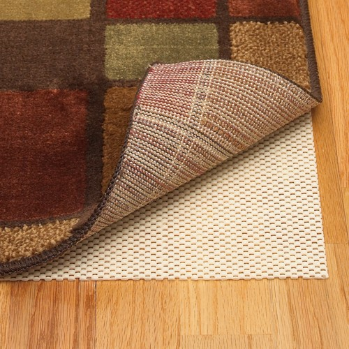 '3'4''x5' Home Better Stay Rug Pad Ivory - Mohawk, Size: 3'4''x5', White'