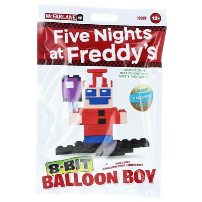 Mcfarlane Toys Five Nights At Freddy's Buildable 8-Bit Balloon Boy