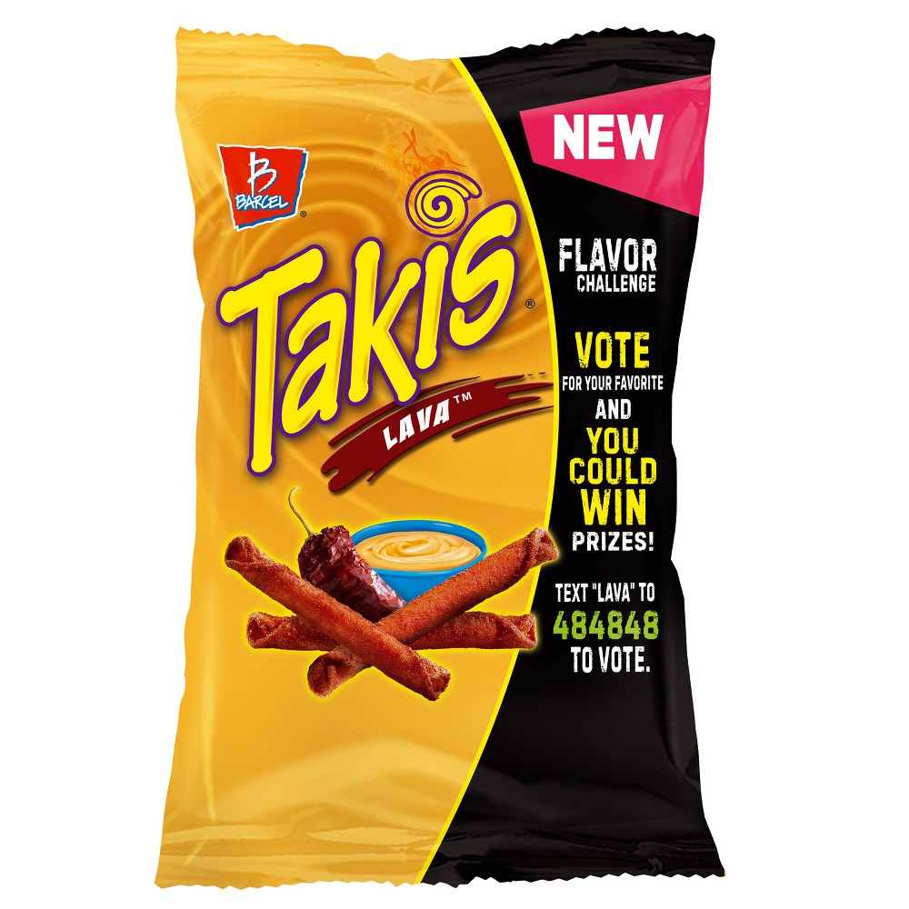 Barcel Takis Lava Tortilla Chips - 9.9oz