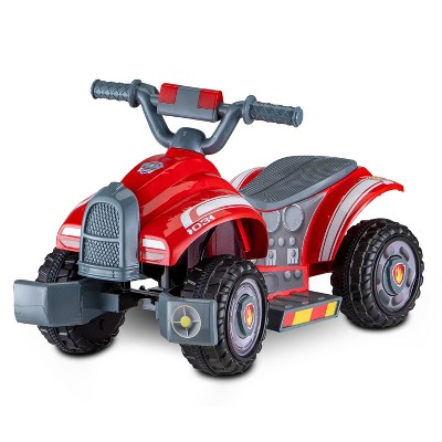 Kid Trax 6V Nickelodeon PAW Patrol Ride with Marshall Quad Powered Ride-On - Red