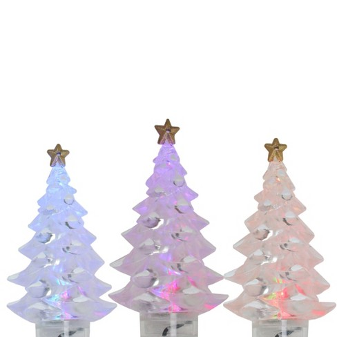 J. Hofert Co 4ct LED Christmas Tree Holiday Lights Multi-Color - 3.25' Green Wire - image 1 of 3
