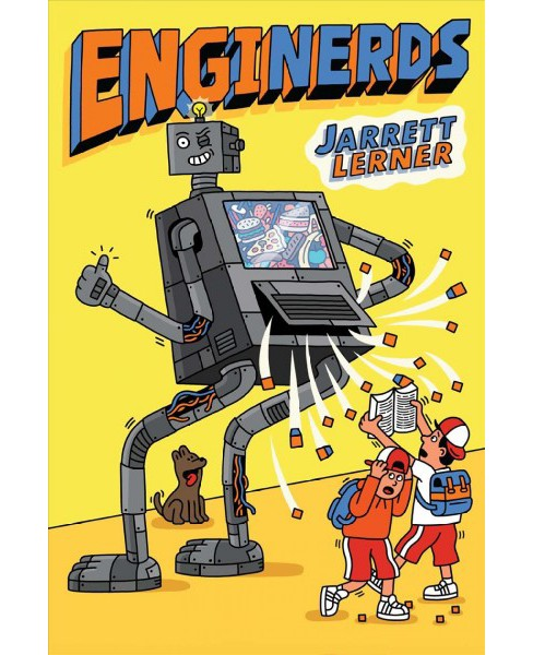 Enginerds -  by Jarrett Lerner (Hardcover) - image 1 of 1