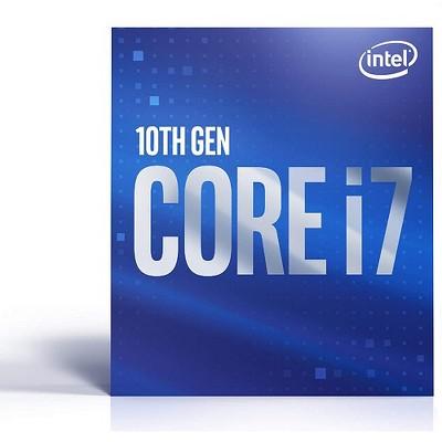 Intel Core i7-10700F Desktop Processor - 8 cores & 16 threads - Up to 4.8 GHz Turbo speed - Socket FCLGA1200 - 16 MB Intel Smart Cache