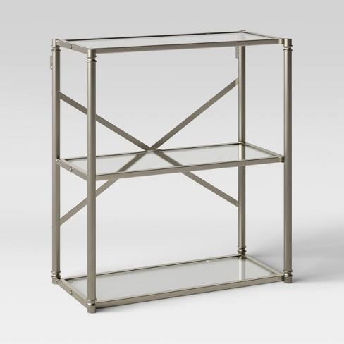 Metal Glass Wall Cabinet Threshold Target