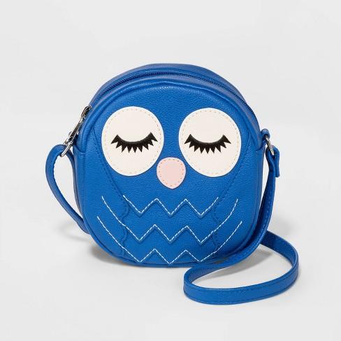 S Owl Crossbody Bag Cat Jack Blue