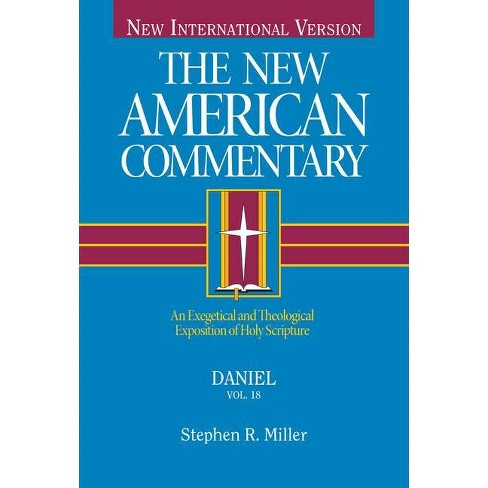 Daniel, Volume 18 - (New American Commentary) by  Stephen Miller (Hardcover) - image 1 of 1