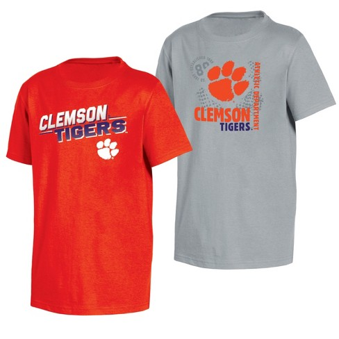brand new 71fc8 769d3 Clemson Tigers Double Trouble Toddler Short Sleeve 2pk T-Shirts